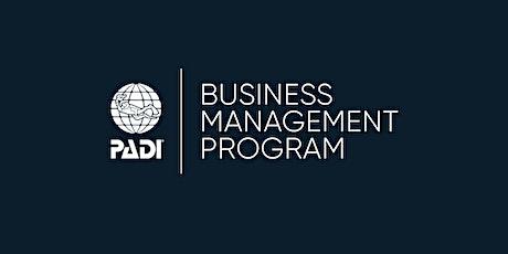 PADI Business Management Program - Edinburgh 2020 - UK tickets