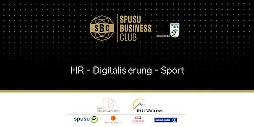 HR - Digitalisierung - Sport