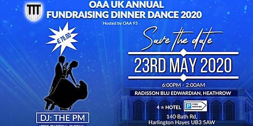 OAA-UK Fundraising Dinner Dance 2020