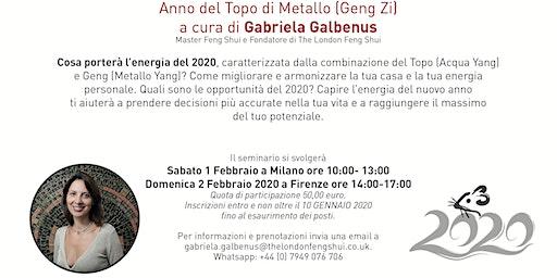 SEMINARIO DI FENG SHUI E ASTROLOGIA CINESE 2020