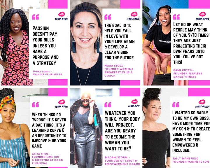 POWER MOVES - From side hustle to empire in 2020 image