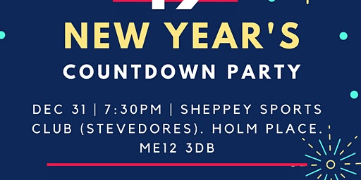 New Year's  Countdown @ Stevedores
