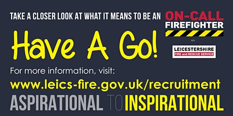 On-Call Firefighter Have A Go Day tickets