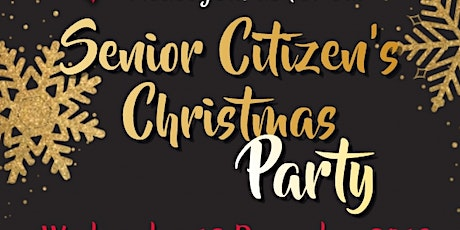 Senior Citizen's Christmas Party tickets