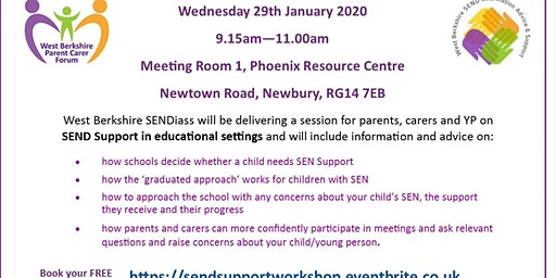 SEND Support In Educational Settings Workshop