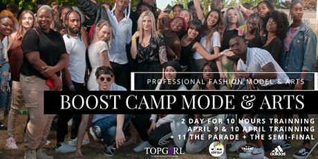 BOOST CAMP FASHION WEEK + ARTISTIQUE billets
