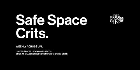 Space Crits - Jan - March Wednesdays @ Camberwell tickets