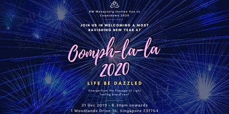 Countdown 2020 Oomph-la-la - Life Be Dazzled tickets
