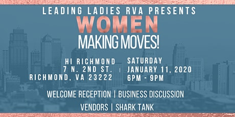 Women Making Moves tickets