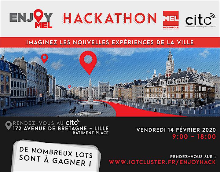 Image pour Hackathon EnjoyMEL : Imaginez les nouvelles expériences de la ville
