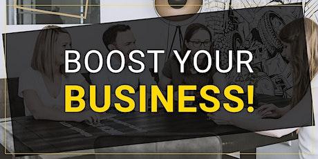 Boost your Business: Akquisemethoden- und Strategien online/offline Tickets