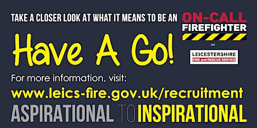 On-Call Firefighter Have A Go Day