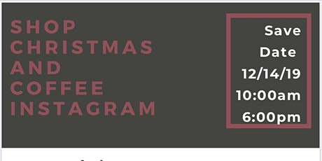 Shopping Christmas and Coffee Instagram tickets