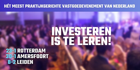 Investeren is te leren tickets