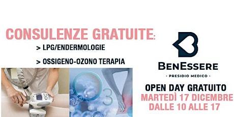 Open Day Gratuito: LPG/Endermologie e Ossigeno/Ozonoterapia biglietti
