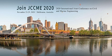 International Joint Conference on Civil and Marine Engineering(JCCME 2020 tickets