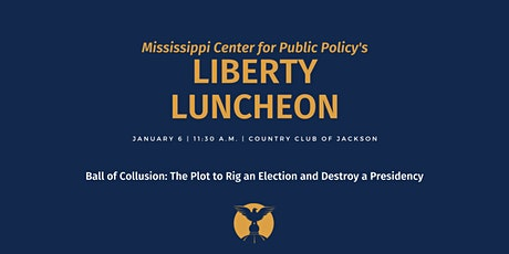 Liberty Luncheon: Andy McCarthy and Ball of Collusion tickets