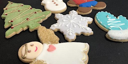 Cookie Decorating - Christmas Theme