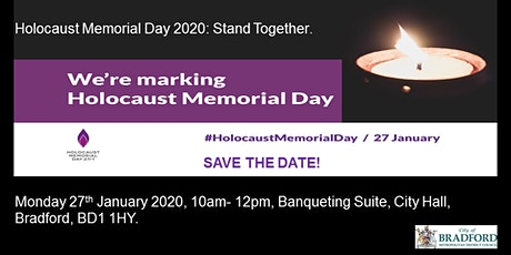 Holocaust Memorial Day Event 2020, Stand Together! tickets
