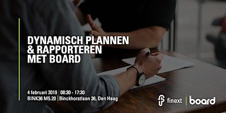 Dynamisch Plannen & Rapporteren met Board tickets
