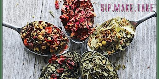 Sip+Make+Take: Signature Herbal Tea Bags