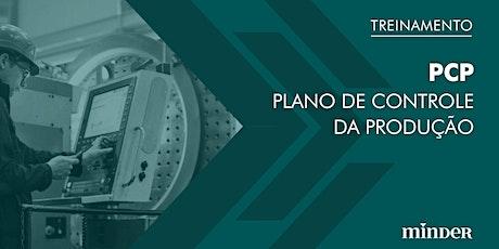 PCP - Plano de Controle da Produção ingressos