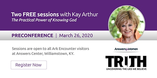 Answers for Women Pre-Conference with Kay Arthur