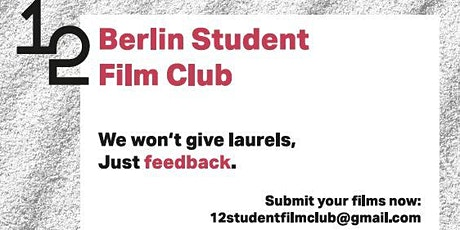12 Berlin Student Film Club Tickets