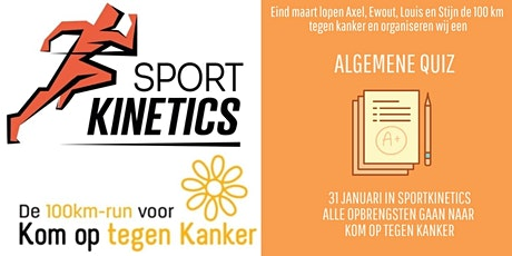 Sportkinetics Quiz tvv KOTK tickets