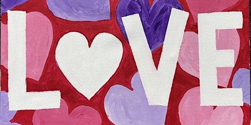 Mom & Me Valentine's Painting