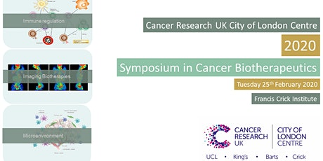 CRUK City of London Centre 2020 Symposium on Cancer Biotherapeutics tickets