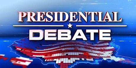 6th Presidential Debate Watch entradas