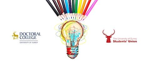 University of Surrey Postgraduate Research Showcase  - IoD Launch 2020 tickets
