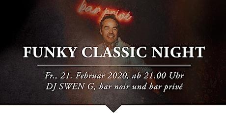Funky Classic Night mit DJ SWEN G, Tortue Tickets