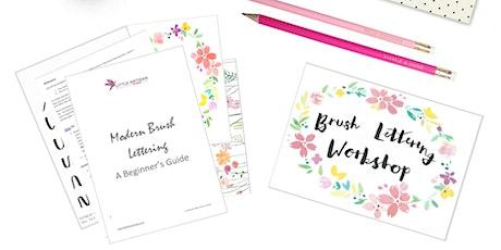 Modern Brush Lettering Beginners Workshop tickets