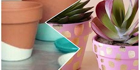 Creatief atelier -- De mooiste bloempotjes tickets