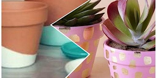Creatief atelier -- De mooiste bloempotjes