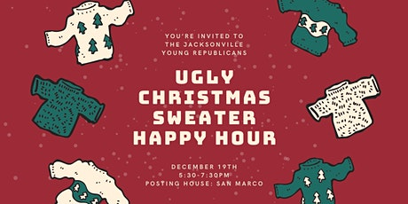JYR December Social: Ugly Christmas Sweater Happy Hour! tickets