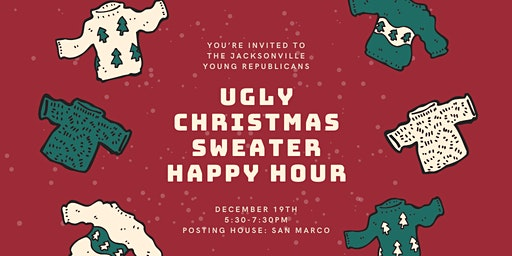 JYR December Social: Ugly Christmas Sweater Happy Hour!