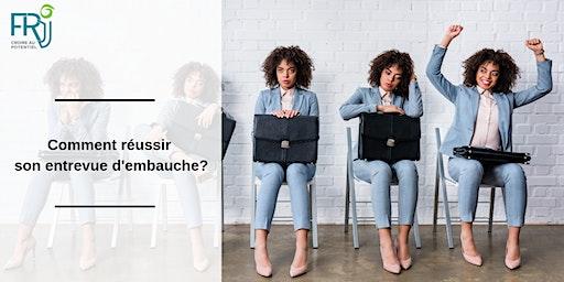 """Atelier """"Comment réussir son entrevue d'embauche?"""""""