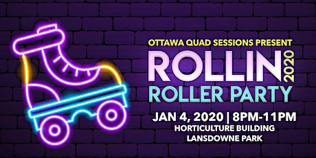 ROLLIN' 2020 Roller Party - Live DJ tickets