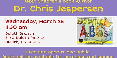 Meet Children's Book Author:  Dr. Chris Jespersen tickets
