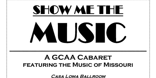 SHOW ME the MUSIC Cabaret Middle School PreShow