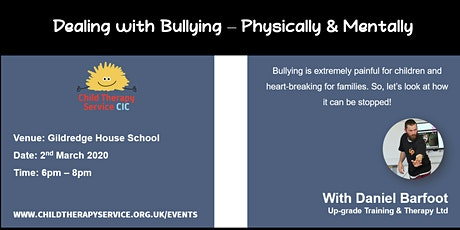 Dealing with Bullying - physically and mentally tickets