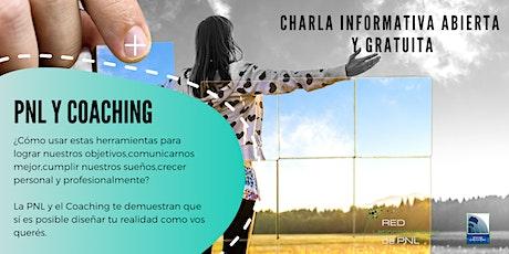 """CHARLA ABIERTA Y GRATUITA """"PNL y Coaching"""" entradas"""