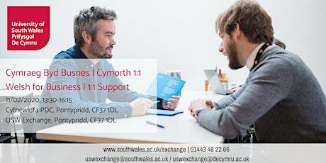 Welsh for Business, 1:1 Support | Cymraeg byd Busnes, Cymorth 1:1 11/02/20 tickets