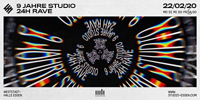 9 Jahre Studio - 24h Rave