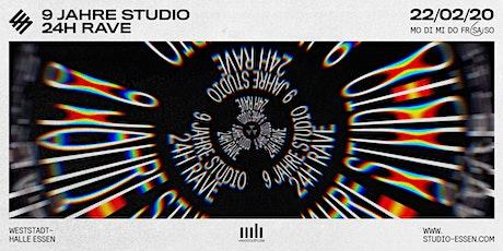 9 Jahre Studio - 24h Rave Tickets