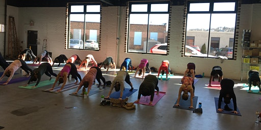 TaproomYoga @ Wormtown Brewery - 1/25/20
