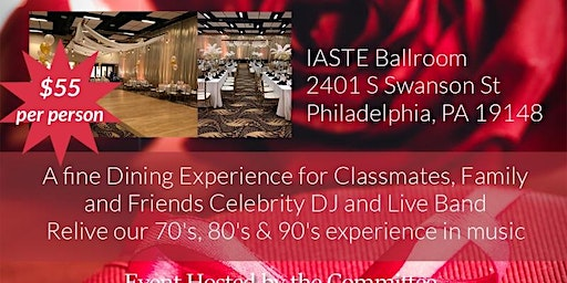 William Penn Class Of 1979 Valentine's Day 40th Year Reunion
